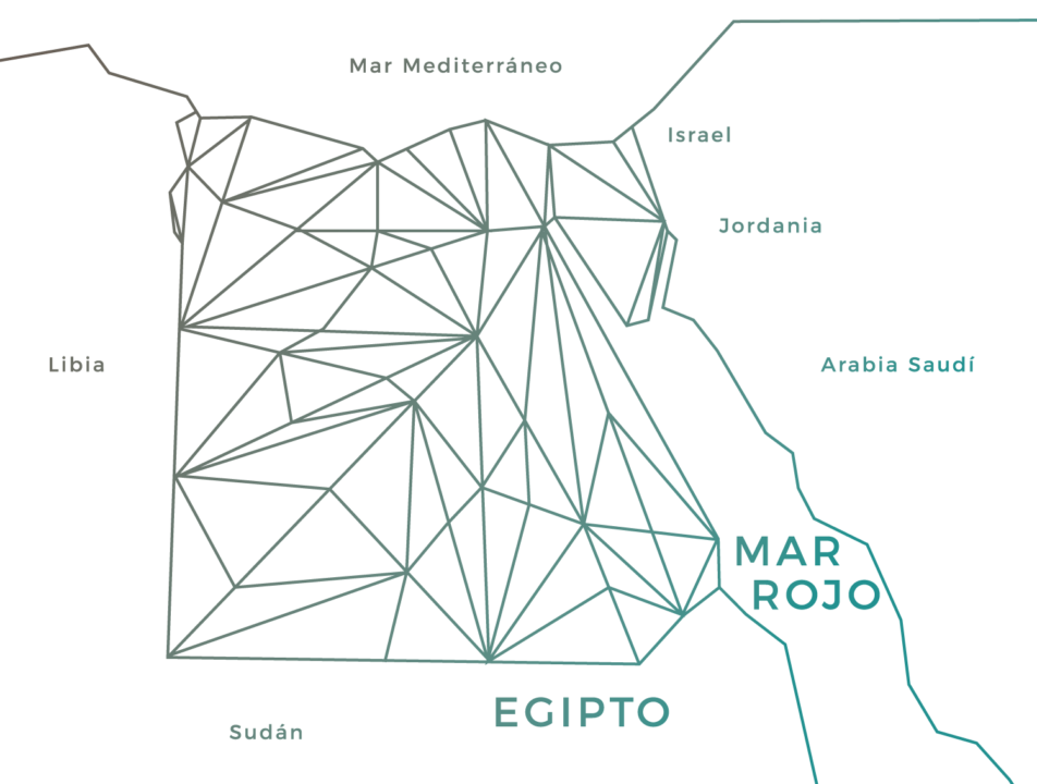 mapa turistico de egipto