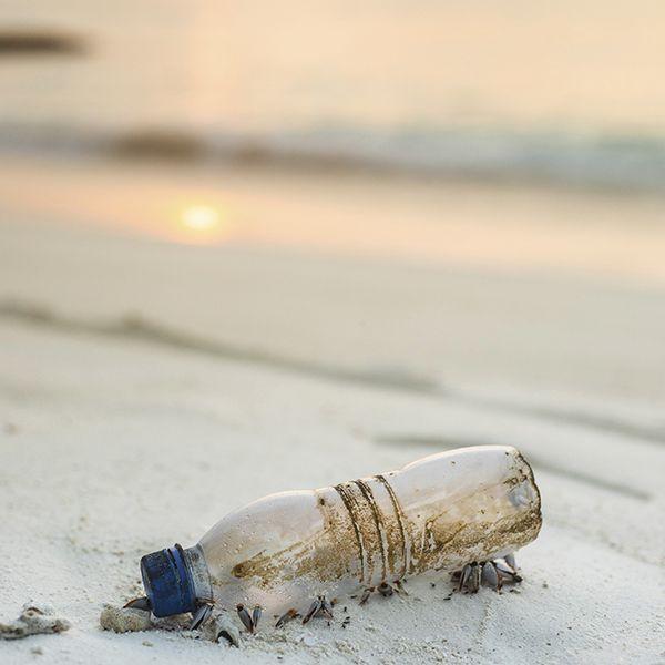 Plastico en las playas